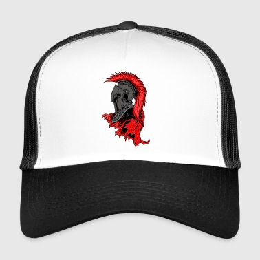 Brave Knight - Knight Soldier armor held Fighter - Trucker Cap