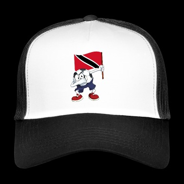 Trinidad and Tobago Dabbing football - Trucker Cap