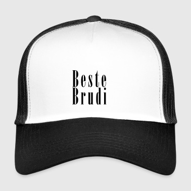 Brudi_black - Trucker Cap