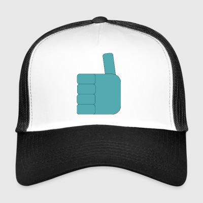 Thumbs_up_Robo - Trucker Cap