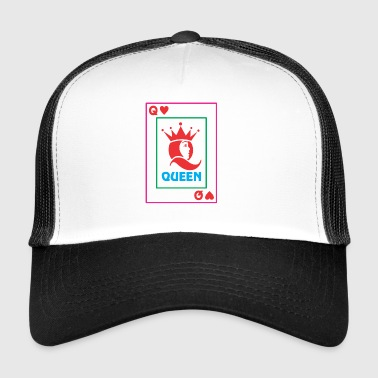 Kartę do gry QUEEN - Trucker Cap