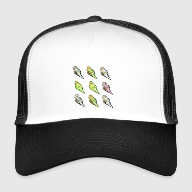 Wellensittiche - Trucker Cap