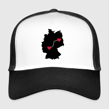 Long Distance Relationship - Frankfurt / Berlin - Trucker Cap