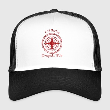 antiguo SailorRed - Gorra de camionero