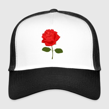 Red Rose - Trucker Cap