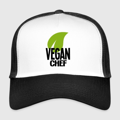 vegan chef de - Trucker Cap