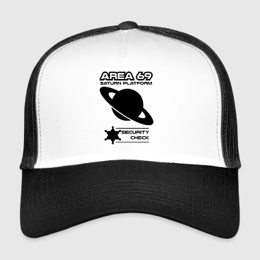 saturn blak - Trucker Cap