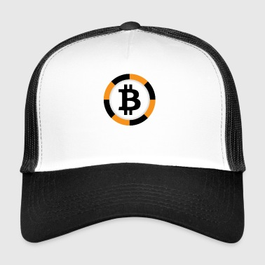 Bitcoin Poker Chip - Trucker Cap