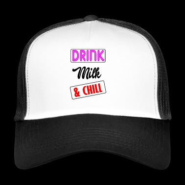 milk and - Trucker Cap