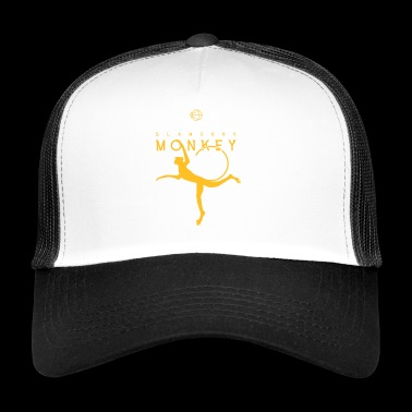 slam dunk monkey - Trucker Cap