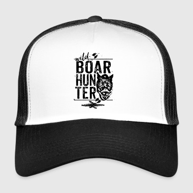 Boar hunter - Wild Boar Hunter - Trucker Cap
