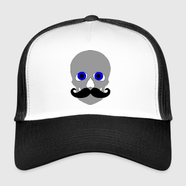 bald skull - Trucker Cap