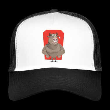 Bull with ring through the nose - Trucker Cap