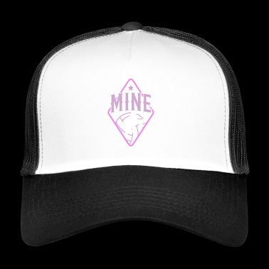 My Volleyball Dredging Ace Flatbed Game Mine - Trucker Cap