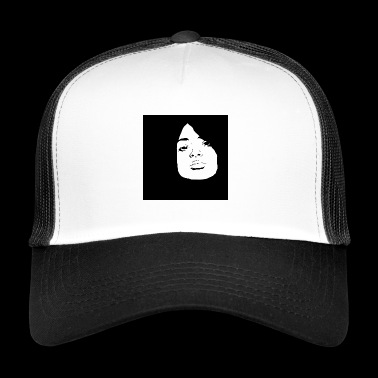 stencil girl - Trucker Cap