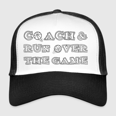 Coach / Coach: Coach & run Over The Game - Trucker Cap