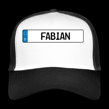 Fabian name tag gift - Trucker Cap
