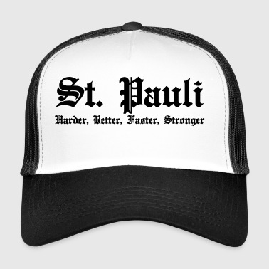 St. Pauli Harder Better Faster Strong Hamburg - Trucker Cap