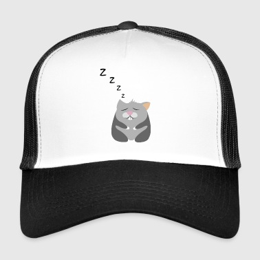 Hamster sleeping - Trucker Cap