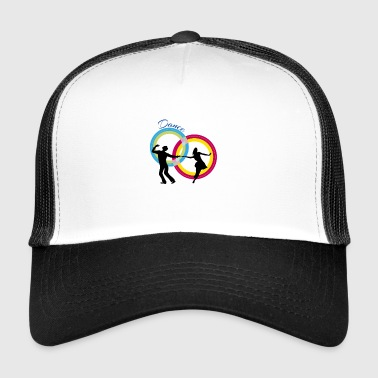 couple dancers dancing - Trucker Cap