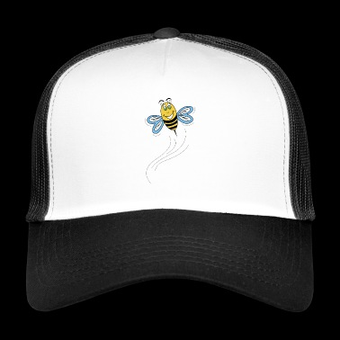 Bee in flight - Trucker Cap