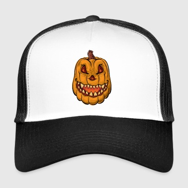 Halloween citrouille - Trucker Cap