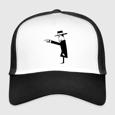 Spy with hat - Trucker Cap