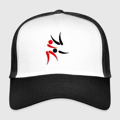 karate martial arts thai boxing ninja kickboxing61 - Trucker Cap