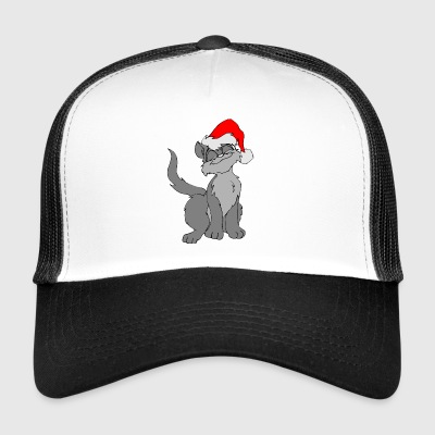 chat de Noël - Trucker Cap