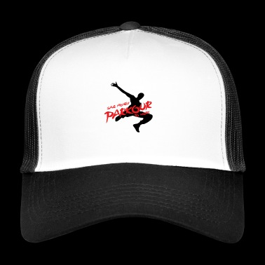 Freerun to work! - Trucker Cap