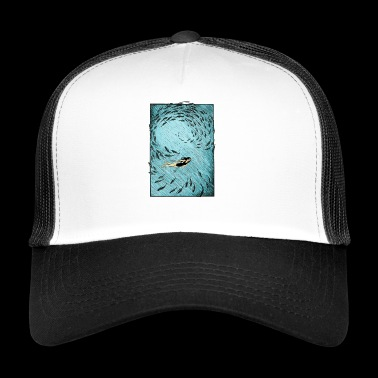 Under the water - Trucker Cap