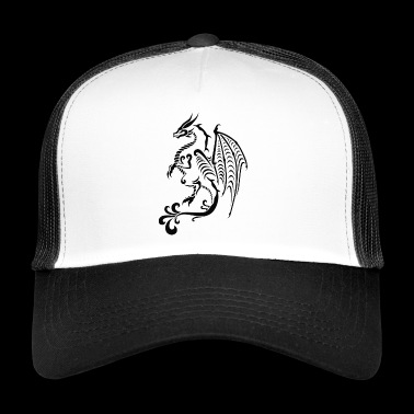 Asian Dragon - Trucker Cap