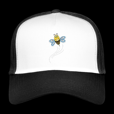 bi under flyvning - Trucker Cap