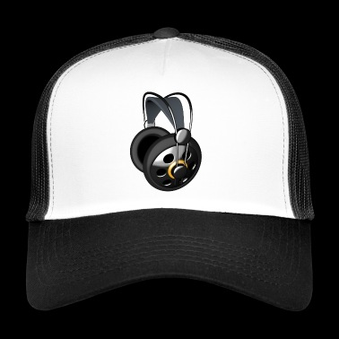 Audio headphones - Trucker Cap