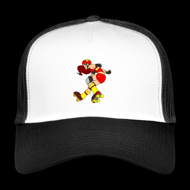 derby girl - Trucker Cap