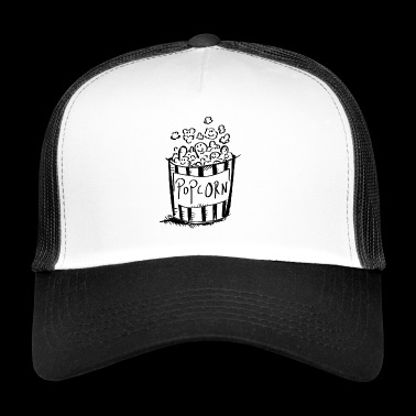 Amo Popcorn - Cinema - regalo - Trucker Cap