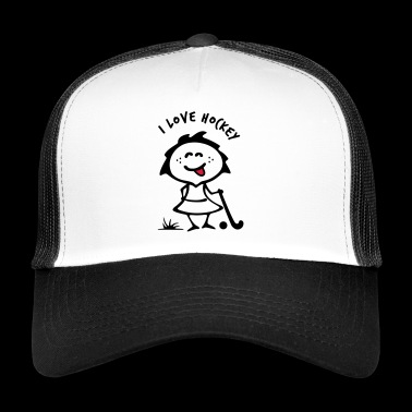 Hockey Girlie - Trucker Cap