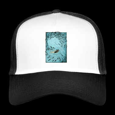 Under vann - Trucker Cap