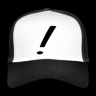 exclamation mark - Trucker Cap