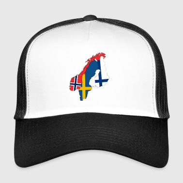 Nordic country - Trucker Cap