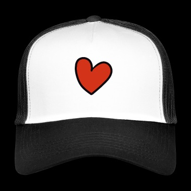 crooked heart - Trucker Cap