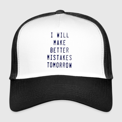 Mishaps funny sayings - Trucker Cap