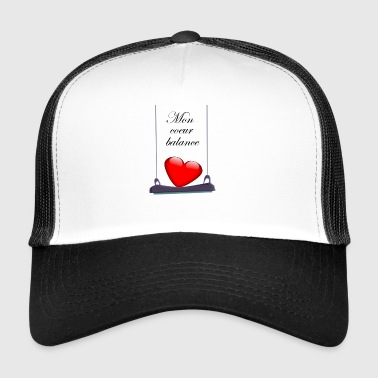 My heart balances - Trucker Cap