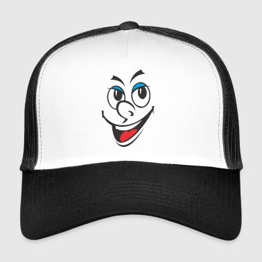 face - Trucker Cap