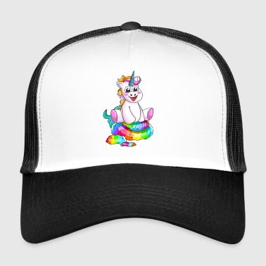 Funny Unicorn - Trucker Cap
