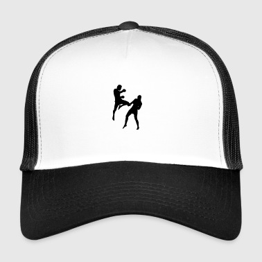 Kickboxing Thai boxing gift fitness - Trucker Cap