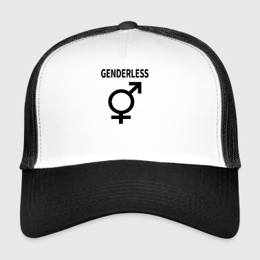Gender woman man symbol gender gift idea - Trucker Cap