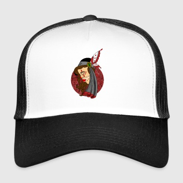 chicano girl - Trucker Cap