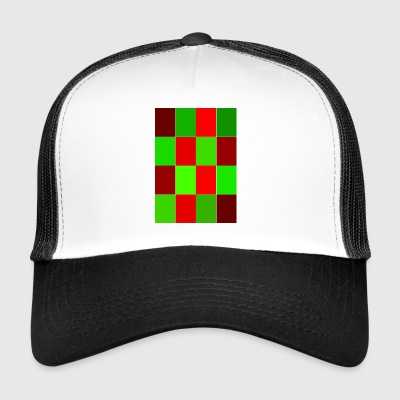 rectangles - Trucker Cap