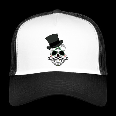 SKULL ROCK N ROLL HARD ROCK CADEAUX T-SHIRT - Trucker Cap